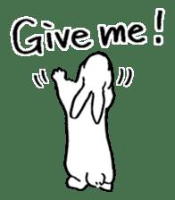 English Bunny 2 sticker #10103587