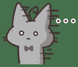 Tu Tu Cat sticker #10112384