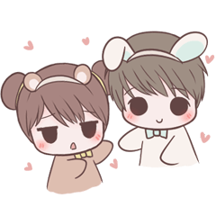Bunny & Bearby Eng Ver.