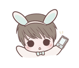 Bunny & Bearby Eng Ver. sticker #10129364