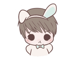 Bunny & Bearby Eng Ver. sticker #10129370