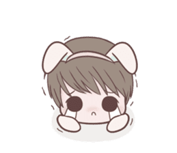 Bunny & Bearby Eng Ver. sticker #10129372