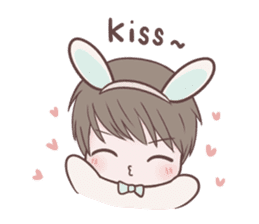 Bunny & Bearby Eng Ver. sticker #10129373