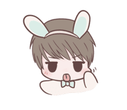 Bunny & Bearby Eng Ver. sticker #10129376
