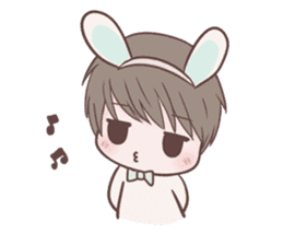 Bunny & Bearby Eng Ver. sticker #10129379
