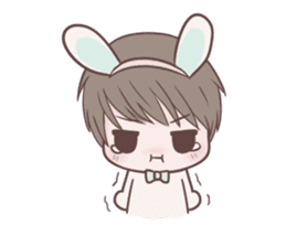 Bunny & Bearby Eng Ver. sticker #10129380