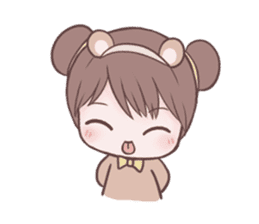 Bunny & Bearby Eng Ver. sticker #10129386