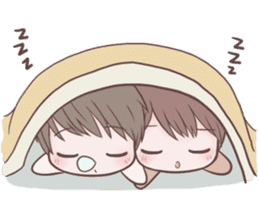 Bunny & Bearby Eng Ver. sticker #10129394