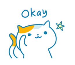 Cats Every day - English ver sticker #10131080