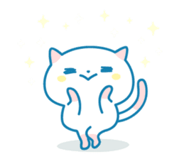 Cats Every day - English ver sticker #10131095