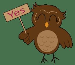 Momo Owl sticker #10138680