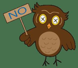 Momo Owl sticker #10138681