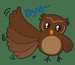 Momo Owl sticker #10138682