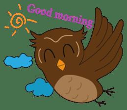 Momo Owl sticker #10138683