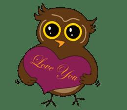 Momo Owl sticker #10138691