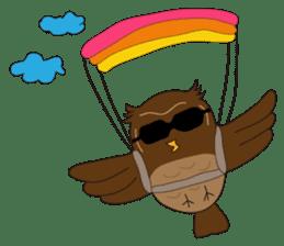 Momo Owl sticker #10138692
