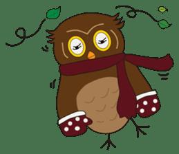 Momo Owl sticker #10138693
