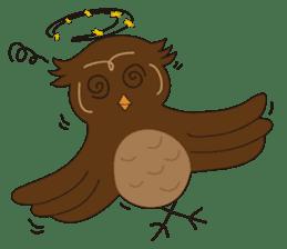 Momo Owl sticker #10138694