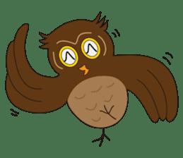 Momo Owl sticker #10138699