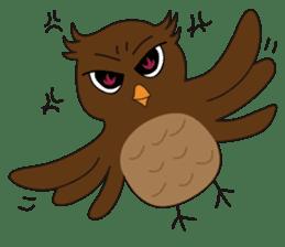 Momo Owl sticker #10138700