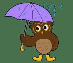 Momo Owl sticker #10138702