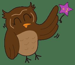 Momo Owl sticker #10138703