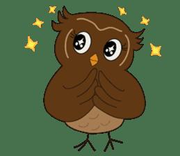 Momo Owl sticker #10138705