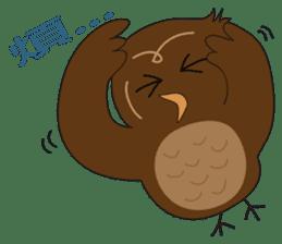 Momo Owl sticker #10138706