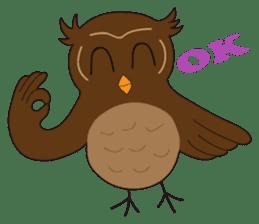 Momo Owl sticker #10138707