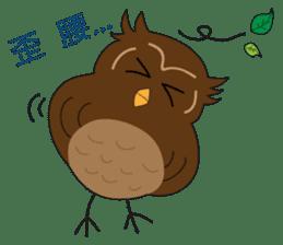 Momo Owl sticker #10138709
