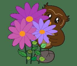 Momo Owl sticker #10138711