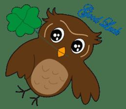 Momo Owl sticker #10138713