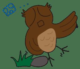 Momo Owl sticker #10138715