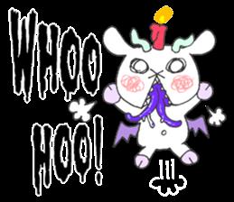 metal monster BAT GOAT sticker #10139845