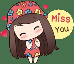 Boobib Summer Girl sticker #10144093