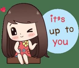 Boobib Summer Girl sticker #10144094