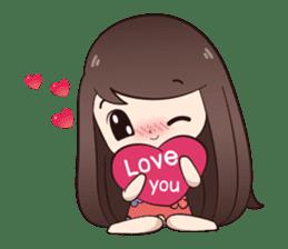 Boobib Summer Girl sticker #10144095
