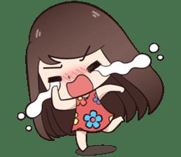 Boobib Summer Girl sticker #10144096