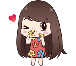 Boobib Summer Girl sticker #10144097