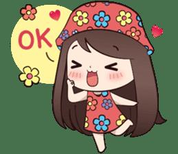 Boobib Summer Girl sticker #10144098