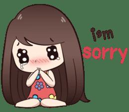 Boobib Summer Girl sticker #10144101