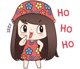 Boobib Summer Girl sticker #10144103