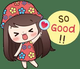 Boobib Summer Girl sticker #10144106