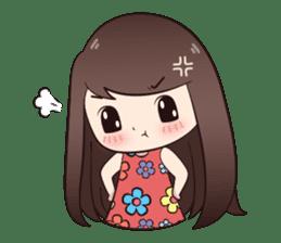 Boobib Summer Girl sticker #10144107