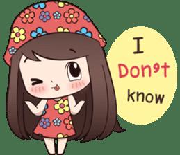 Boobib Summer Girl sticker #10144110