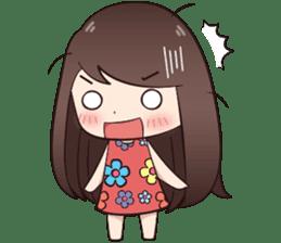 Boobib Summer Girl sticker #10144111
