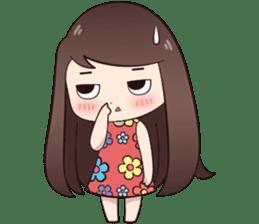 Boobib Summer Girl sticker #10144112