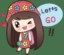 Boobib Summer Girl sticker #10144113
