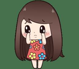 Boobib Summer Girl sticker #10144114