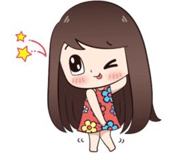 Boobib Summer Girl sticker #10144119